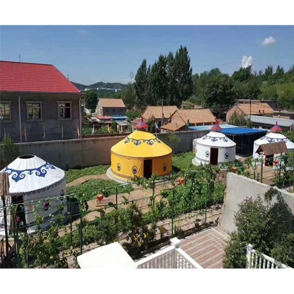 贵州客户定制的生态园蒙古包