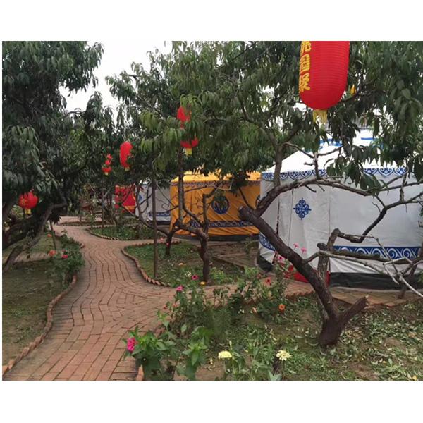 重庆生态园蒙古包