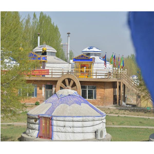 江西生态园蒙古包