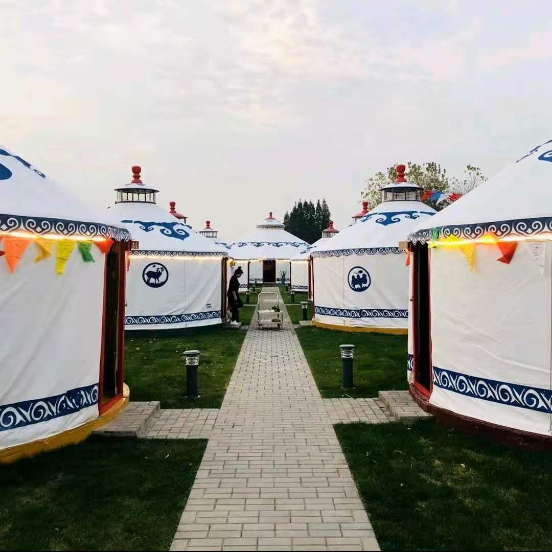 生态园豪华蒙古包
