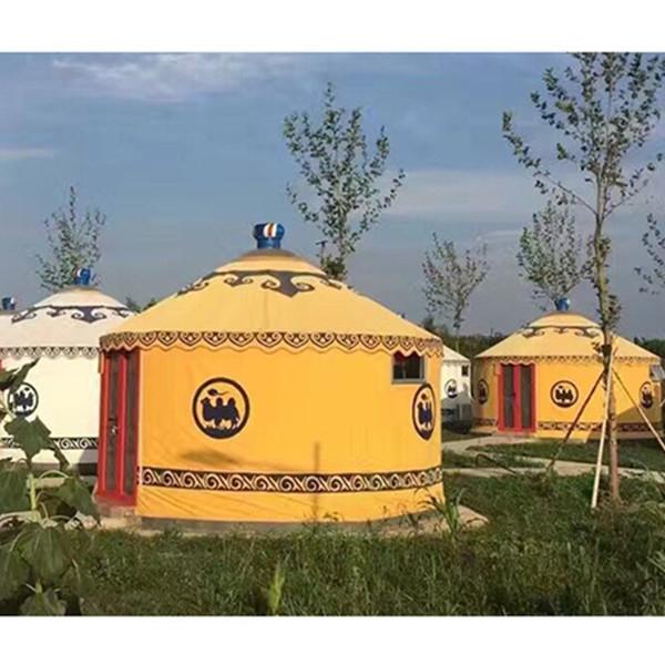 河北农家乐蒙古包