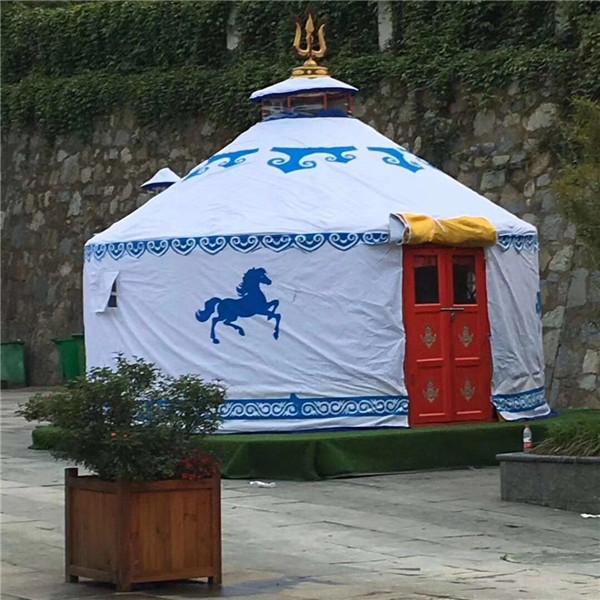 湖南竹艺蒙古包