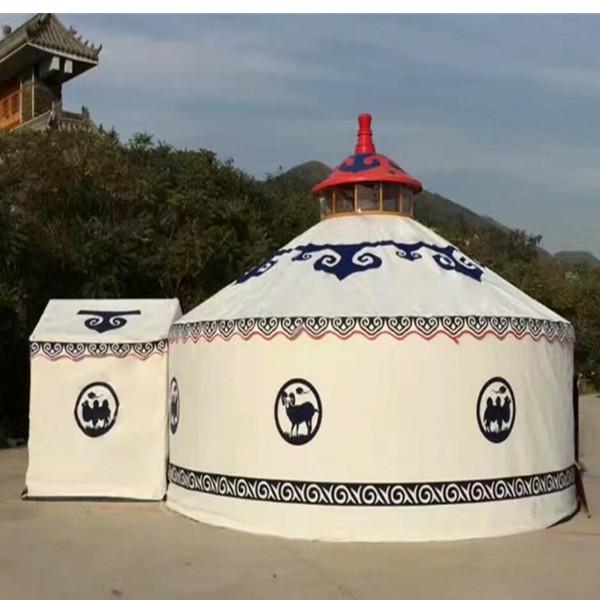 上海钢架蒙古包