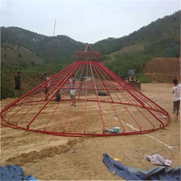青海钢架蒙古包