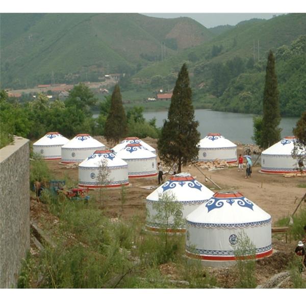 四川生态园蒙古包