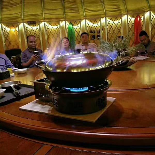 豪华餐饮蒙古包