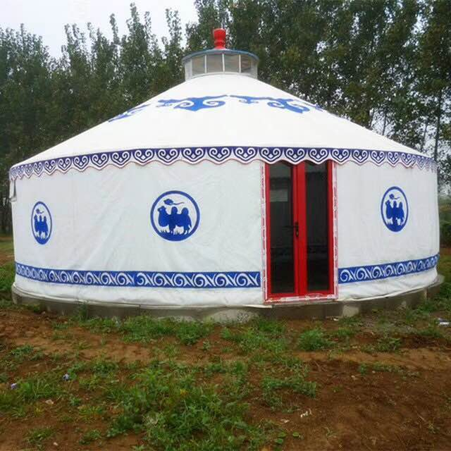 便于迁移的房子帆布蒙古包构造与搭建