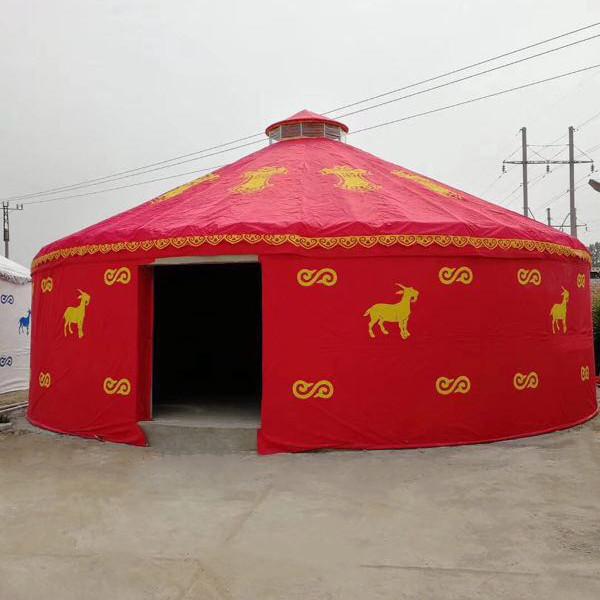 便于迁移的房子住宿蒙古包厂家直销